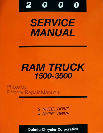 2000 dodge ram truck factory shop service repair manual. Black Bedroom Furniture Sets. Home Design Ideas