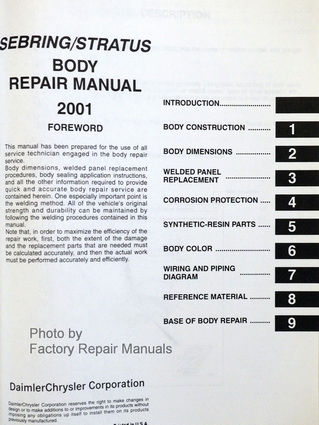 Dodge oem replacement parts user user manuals user manuals owners user manual array 2001 chrysler sebring coupe dodge stratus coupe factory shop rh factoryrepairmanuals com fandeluxe Images