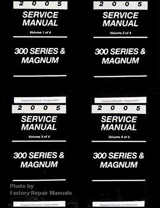 2005 chrysler 300 300c dodge magnum factory service manual. Black Bedroom Furniture Sets. Home Design Ideas