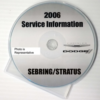 2006 chrysler sebring dodge stratus factory service manual. Black Bedroom Furniture Sets. Home Design Ideas