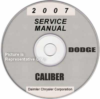2007 dodge caliber factory service manual cd rom original. Black Bedroom Furniture Sets. Home Design Ideas