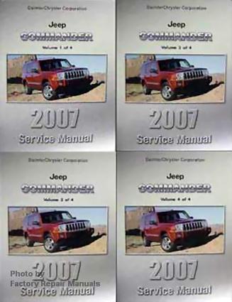 2007 jeep commander repair manual