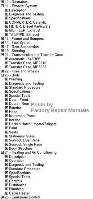2011 Jeep Grand Cherokee Factory Service Manual Cd-rom Original Shop Repair