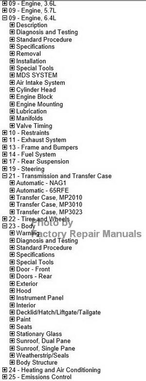 2012 grand cherokee service manual