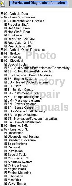 2014 Dodge Charger Factory Service Manual Cd Original Shop
